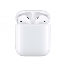 Наушники Apple AirPods (ver2) Soft Touch Silicone Case Grey в зарядном футляре MV7N2RU/A Выгодный набор + серт. 200Р!!!