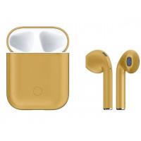 Наушники Hoco ES28 Original Series Apple Сhampagne Gold