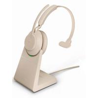 Наушники Jabra Evolve2 65 Link380a UC Mono Stand Beige 26599-889-988