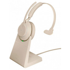 Наушники Jabra Evolve2 65 Link380c UC Mono Stand Beige 26599-889-888