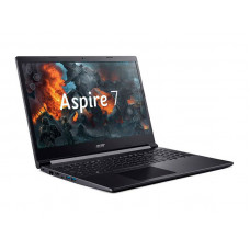 Ноутбук Acer Aspire 7 A715-75G-56ZT NH.Q88ER.002 (Intel Core i5-9300H 2.4GHz/8192Mb/256Gb SSD/nVidia GeForce GTX 1650 Ti 4096Mb/Wi-Fi/15.6/1920x1080/Eshell)