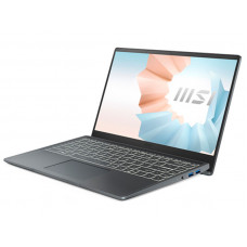 Ноутбук MSI Modern 14 B11MO-063RU 9S7-14D314-063 ( Intel Core i5-1135G7 2.8Ghz/8192Mb/512Gb SSD/Intel Iris Xe Graphics/Wi-Fi/Bluetooth/Cam/14.0/1920x1080/Windows 10 Home 64-bit)