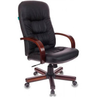 Офисное кресло Бюрократ T-9908/WALNUT черное