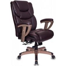 Офисное кресло Бюрократ T-9999/BROWN темно-коричневое