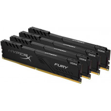 Оперативная память DIMM 32 Гб DDR4 3466 МГц Kingston HyperX Fury Black (HX434C16FB3K4/32) PC-27700, 4x 8 Гб KIT