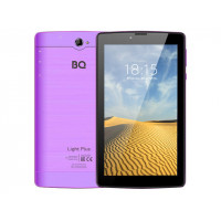Планшет BQ 7038G Light Plus Violet (Unisoc SC7731E 1.3GHz/2048Mb/16Gb/3G/Wi-Fi/Bluetooth/GPS/Cam/7.0/1024x600/Android)