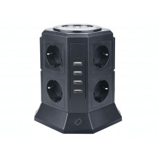 Qumo Power Tower Pro 8SP4U P-0002 8 Sockets 2m 30557