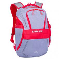 Рюкзак для ноутбука RIVACASE 5225 grey/red