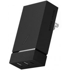 Сетевое зарядное устройство Сетевое зарядное устройство Native Union Smart Hub PD 45W (серый)
