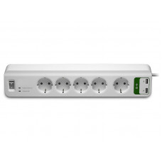 Сетевой фильтр APC Essential 5 Sockets 2xUSB 1.8m White PM5U-RS