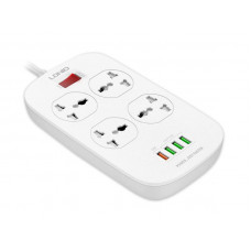 Сетевой фильтр Ldnio SC4407Q 4xUSB / 4 Sockets 2m White LD_B4435