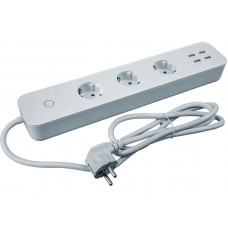 Сетевой фильтр Navigator 3 Sockets 3m White NSH-PE-01-WiFi 14 557
