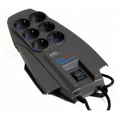 Сетевой фильтр Zis Pilot X-Pro 6 Sockets 1.8m Dark Grey 45601