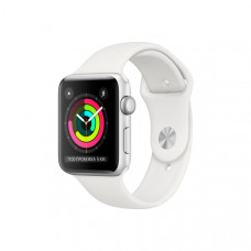 Смарт-часы Apple Watch S3 38mm Silver Aluminum Case with White Sport Band
