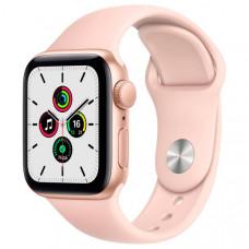 Смарт-часы Apple Watch SE 40mm Gold Aluminum Case with Pink Sand Sport Band (MYDN2RU/A)