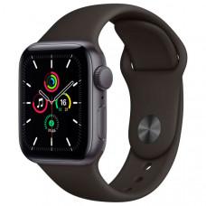 Смарт-часы Apple Watch SE 44mm Space Gray Aluminum Case with Black Sport Band (MYDT2RU/A)