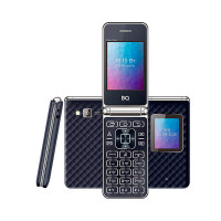 Сотовый телефон BQ 2446 Dream Duo Dark Blue