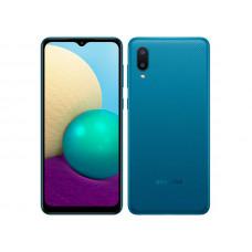 Сотовый телефон Samsung SM-A022GZ Galaxy A02 2/32Gb Blue Выгодный набор + серт. 200Р!!!