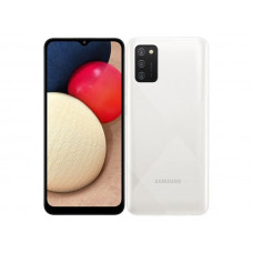 Сотовый телефон Samsung SM-A025F Galaxy A02S 3Gb/32Gb White Выгодный набор + серт. 200Р!!!