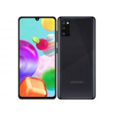 Сотовый телефон Samsung SM-A415F Galaxy A41 4/64Gb Black & Wireless Headphones Выгодный набор + серт. 200Р!!!