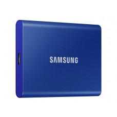 Твердотельный накопитель Samsung Portable T7 1Tb Blue MU-PC1T0H/WW Выгодный набор + серт. 200Р!!!