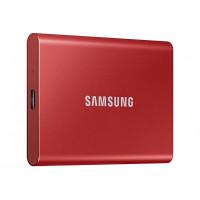 Твердотельный накопитель Samsung Portable T7 1Tb Red MU-PC1T0R/WW