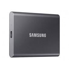 Твердотельный накопитель Samsung Portable T7 500Gb Grey MU-PC500T/WW