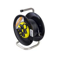 Удлинитель на катушке без заземления Perfeo RuPower 4 Sockets 40m PF_B4675