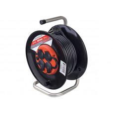 Удлинитель на катушке с заземлением Perfeo RuPower 4 Sockets 30m PF_B4678