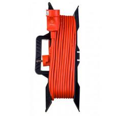 Удлинитель на рамке без заземления Perfeo RuPower 1 Sockets 30m Orange PF_C3274