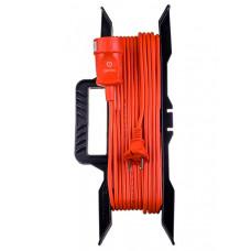 Удлинитель на рамке без заземления Perfeo RuPower 1 Sockets 50m Orange PF_C3272