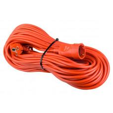 Удлинитель на рамке с заземлением Perfeo RuPower 1 Sockets 50m Orange PF_C3276