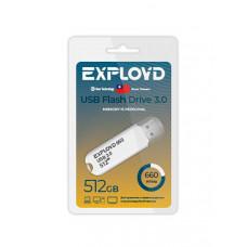 USB Flash Drive 512Gb - Exployd 660 3.0 EX-512GB-660-White