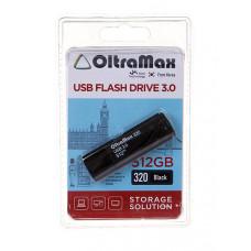 USB Flash Drive 512Gb - OltraMax 320 3.0 Black OM-512GB-320-Black