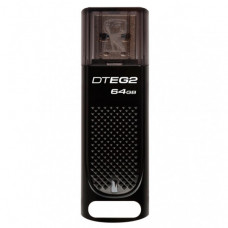 USB Flash Drive USB Flash 64Gb Kingston DataTraveler Elite G2 Black (DTEG2/64GB)