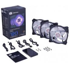 Вентилятор для корпуса Cooler Master MasterFan Pro 120 Air Pressure RGB 3 in 1 (MFY-P2DC-153PC-R1)
