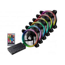 Вентилятор Enermax T.B.RGB 120mm 6шт UCTBRGB12-BP6