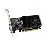 Видеокарта GigaByte GeForce GT 1030 1151Mhz PCI-E 3.0 2048Mb 2100Mhz 64 bit DVI HDMI HDCP GT 1030 Low Profile D4 2G GV-N1030D4-2GL