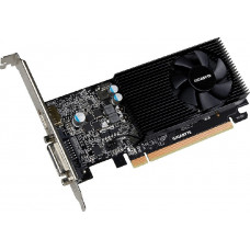 Видеокарта Gigabyte PCI-Ex GeForce GT 1030 Low Profile 2GB GDDR5 64bit 1227/6008 DVI, HDMI (GV-N1030D5-2GL)