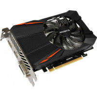Видеокарта Gigabyte PCI-Ex GeForce GTX 1050 TI D5 4GB GDDR5 128bit 1290/7008 DVI, HDMI, DisplayPort (GV-N105TD5-4GD)