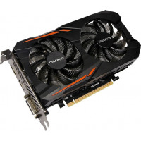 Видеокарта Gigabyte PCI-Ex GeForce GTX 1050 TI OC 4GB GDDR5 (128bit) (1316/7008) (DVI, HDMI, DisplayPort) (GV-N105TOC-4GD)