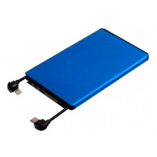 Внешний аккумулятор Molti Double Reel 5000mAh Blue 20200.40