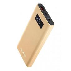 Внешний аккумулятор Qumo PowerAid P10000 V2 QC/PD 10000mAh Gold 24026