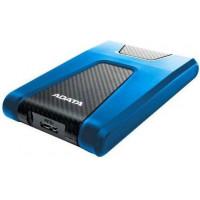 Внешний жесткий диск 2Tb A-DATA HD650 Blue (AHD650-2TU31-CBL)