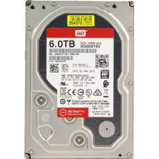 "Жесткий диск 6 Тб Western Digital WD Red Pro (WD6003FFBX) 3.5"", SATA-III, 7200 об/мин"