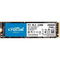 Жесткий диск Crucial P2 PCIe M.2 2280SS 250Gb SSDCT250P2SSD8