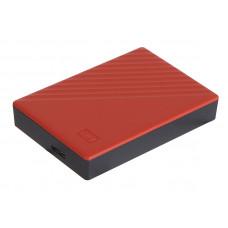 Жесткий диск Western Digital My Passport 4Tb Red WDBPKJ0040BRD-WESN