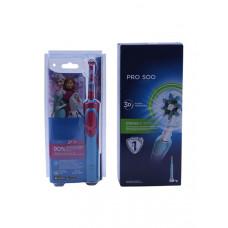 Зубная электрощетка Oral-B Pro 500 + Stages Power Холодное сердце D16.513U + D12.513K набор